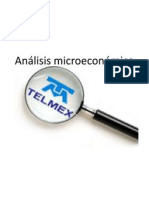 Anlisis microeconmico TELMEX