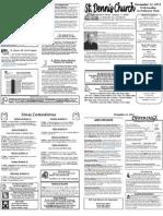 Nov 13 Bulletin