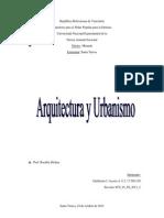Arquitectura y Urbanismo - Historia de La Arquitectura