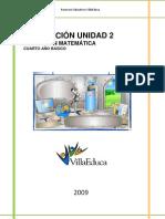 Evaluacion a 4basico Unidad2-2009[1]