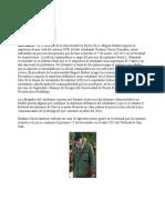 07-11-11 El Presidente de la Universidad de Puerto Rico, Miguel Muñoz impuso la expulsión de por vida del sistema UPR al líder estudiantil Ibrahim García González