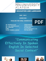 Sanusi Oral Communication - Ida 2