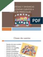 Estrategias y dinámicas para contar cuentos a niños