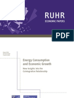 Energy Consumption and Economic Growth