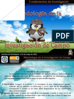 Metodologia de La Investigacion de Campo