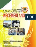 Buku Program Hari Anugerah Kecemerlangan 2011