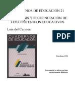 Del Carmen Macro y Microsecuencias