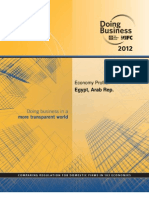 Doing Business in Egypt 2012