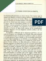 22 Nuestro Pobre Individualismo (Otras Inquisiciones 1952)