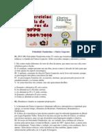 Exercícios - obras literárias da UFPR (03-Felicidade Clandestina)