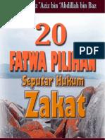 20 Fatwa Pilihan Seputar Hukum Zakat