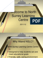 NSLC Orientation Presentation