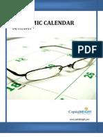 Economic Calendar By www.capitalheight.com