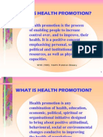 Health Promotion Concept
