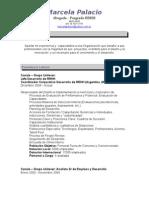 CV Marcela Palacio
