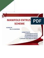 Manifold Entrust Scheme