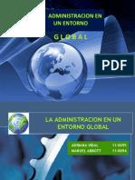 Admin is Trac Ion en Un Entorno Global