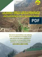Los Andenes o terrazas prehispanicas y su Rehabilitación