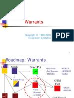 Derivatives > Warrants