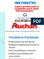 Auchan Ricard Trade Marketing