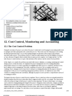 Project Management for Construction_ Cost Control, Monitoring and Accounting