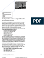 Project Management for Construction_ Organization and Use of Project Information