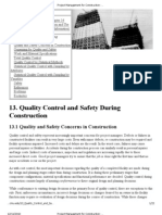 Project Management for Construction_ Quality Control and Safety During Construction