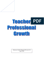 Teach Prof Growth
