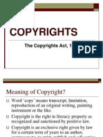 Copyrights Bel