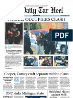 The Daily Tar Heel for November 14, 2011