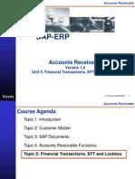 SAP Accounts Receivables Financial Transaction