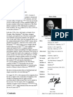 Steve Jobs - Wikipedia, The Free Encyclopedia