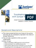 Bgp Troubleshooting Juniper