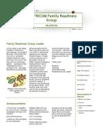Family Readiness Group November 2011 Newsletter