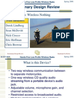 Wireless PDR