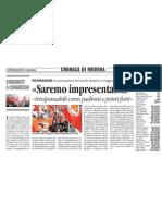 Informazione Modena su Congresso Prc Gramsci