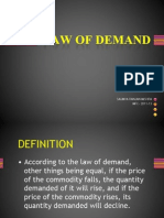 Law of Demand (Saumya) 2007