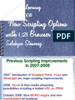 scripting1.21 - New Scripting features in SL client 1.21 Oct 2008