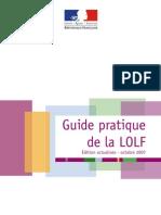 Guide Pratique de La LOLF