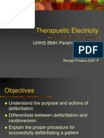 Therapuetic Electricity