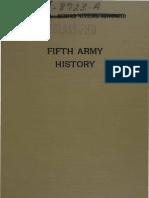 1-Fifth Army History-Part I