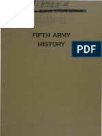 1-Fifth Army History-Part I