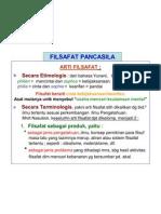 FILSAFAT PANCASILA 1