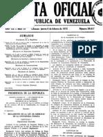 Gaceta. to de La Ley Del Ejercicio