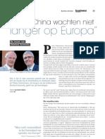"""""""VS en China wachten niet langer op Europa"""". De lessen van Stanford University"""