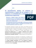 13-11-11 CULTURA, DEPORTES Y EDUCACIÓN_Presupuestos[1]