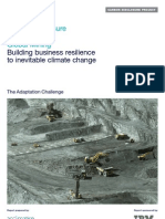 Acclimatise CDP Global Mining Adaptation Report