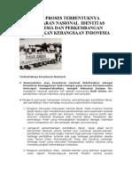 Bab 6 Proses Terbentuknya Kesadaran Nasional Identitas Indonesia Dan an Pergerakan Kebangsaan Indonesia