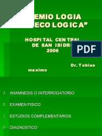 SEMIOLOGIA GINECOLOGICA
