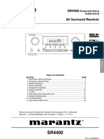 Marrantz Service Manual Using CS493263 09122113454050